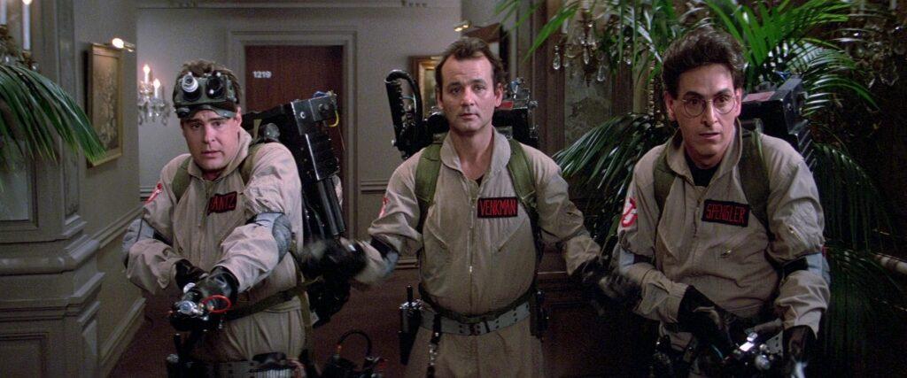 Охотники за привидениями, 1984 г., кадр из фильма